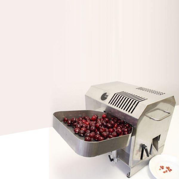 Félautomata cseresznye- és meggy magvaló gép