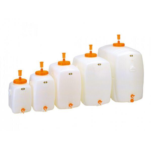 Műanyag erjesztőtartály - ovális - 60-500 liter