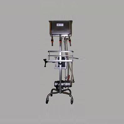 Spagni 3 fejes töltőgép 20 keretes lapszűrővel