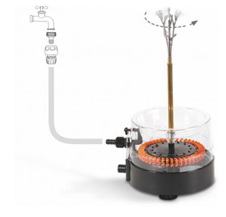 Víznyomásos üvegmosó