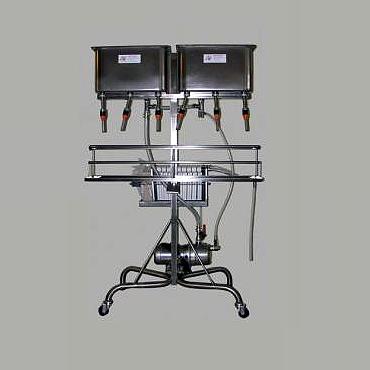 Spagni 6 fejes töltőgép 30 keretes lapszűrővel
