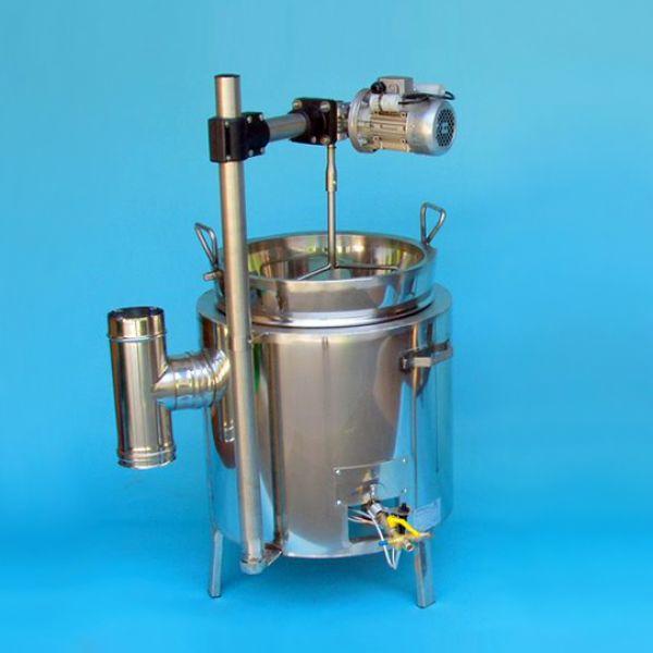 50 literes gázos lekvárfőző